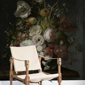 Picture: Still life with flowers on a marble tabletop by Rachel Ruysch 30772