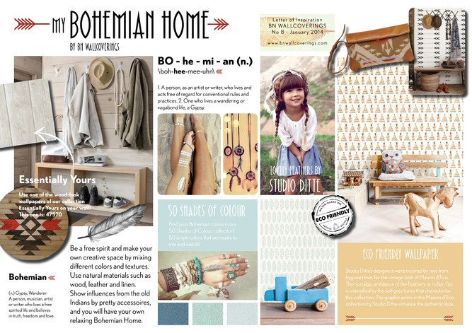 Picture: LOI 8 January 2014 - My Bohemian Home